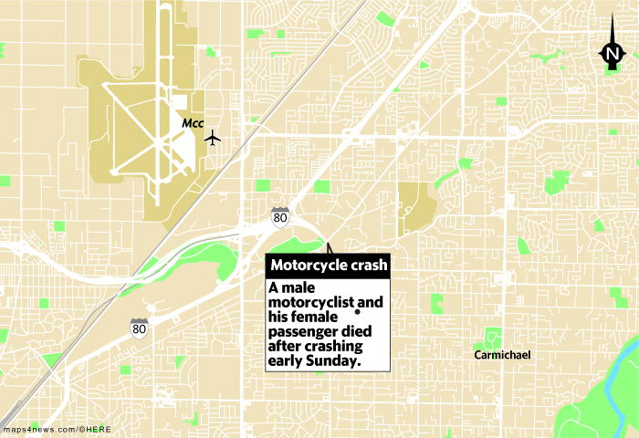 Two killed In Sacramento Motorcycle Crash Early Sunday